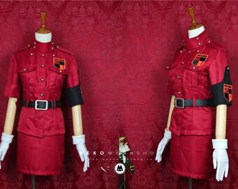 Hellsing Ultimate Seras Victoria School Uniform Dress Halloween Cosplay