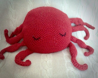 Super Soft Octopus Cushion - not only for the home, but great for supporting baby in tummy time and floor play!