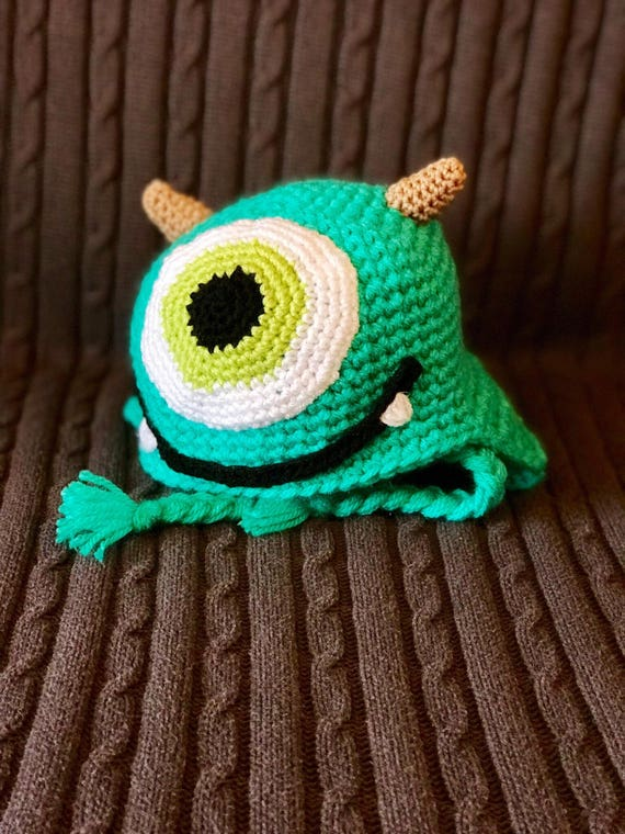 34c30568c6888 Monster Winter Hat for Baby Child   Adult available in the