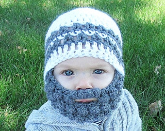 36db7813 Crochet beard hat | Etsy
