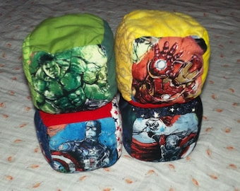 2278f1afb51 Set of 4 Squishy Stackable Fandom Baby Blocks (Inspired by Avengers - Iron  Man