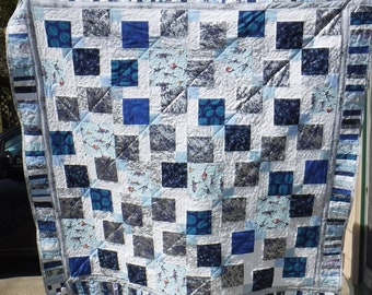 Lap Quilt inspired by Yuri On Ice