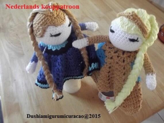 Nederlands Haakpatroon Knuffeldoekje It Look A Like Anna En Etsy