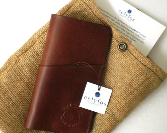 iPhone 6 /iPhone 6 plus handmade Italian leather case sleeve wallet card holder