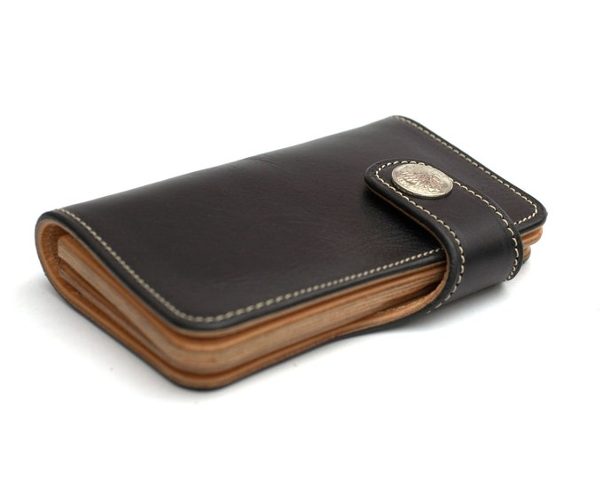 Classic Motorcycle Wallet medium handmade by Celyfos ®