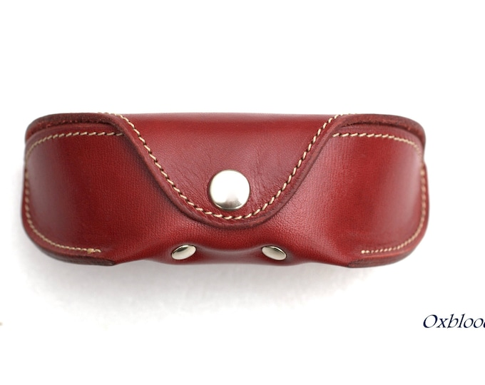 Sports glasses case for Oakley Veg tan Leather Handcrafted