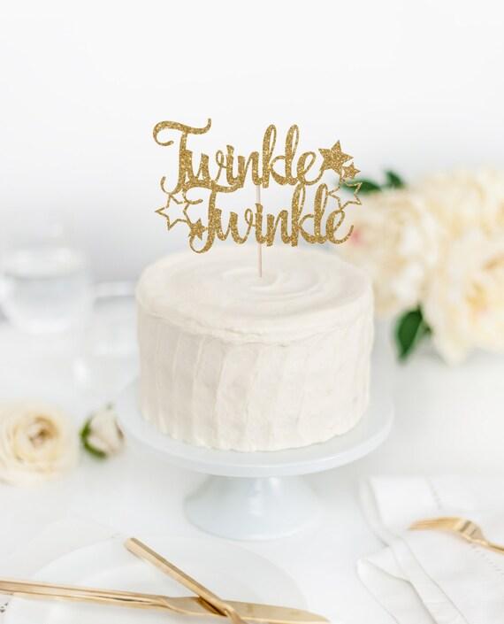 Twinkle Little Star Cake Topper Newborn