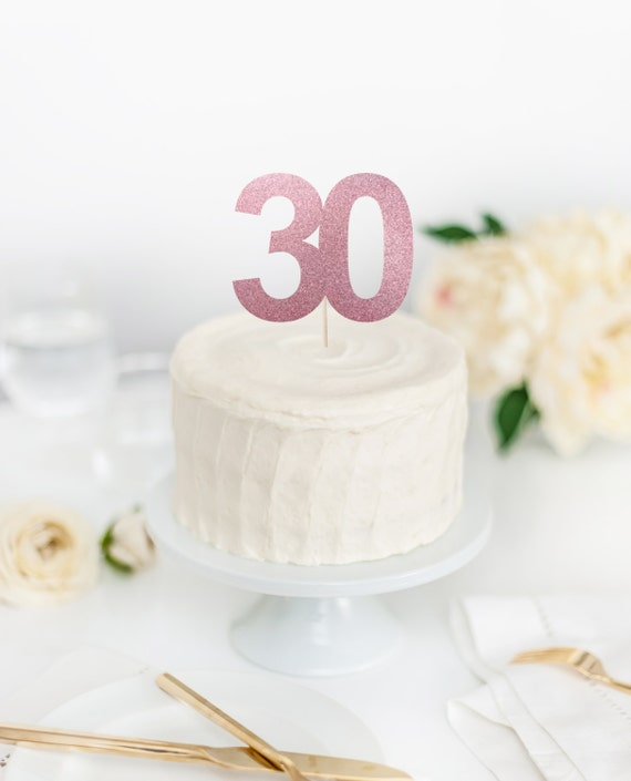 30 Cake Topper 30th Birthday Dirty Thirty