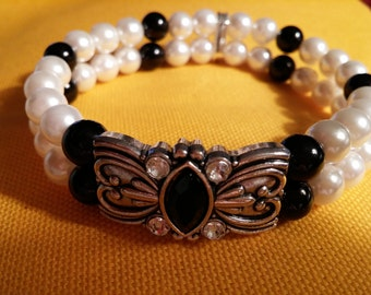 Bracelet ~ Handmade, Beaded & Stretchy!!!
