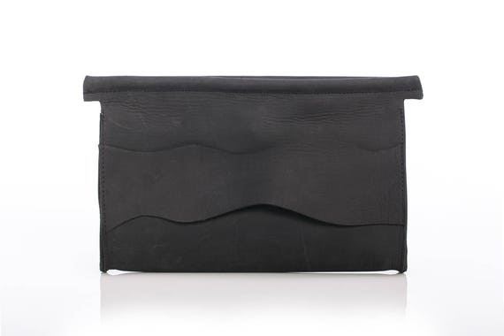 91981faedd7 Clutch Bag Crossbody Purse Women Purse Black Leather Bag | Etsy