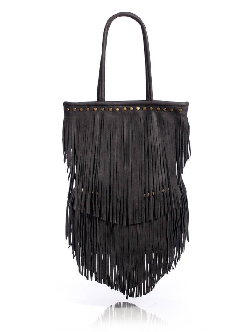 2ead27c37d Boho Bag Fringe Bag Leather Handbag Leather Purse Women
