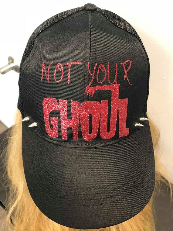 Not Your Ghoul Spiked Hat  c93ae11b1eb