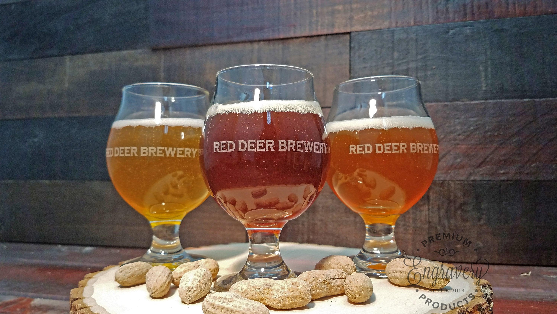 custom beer glass beer snifter personalized gift engraved beer