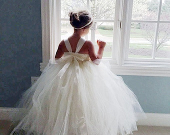 Can Can Flower Girl Dresses