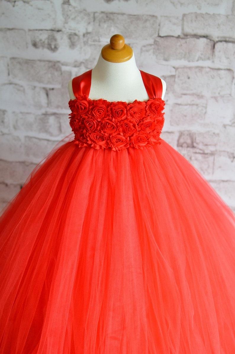 bd4d8ec292e0a Red Rose Flower Girl Dresses - raveitsafe