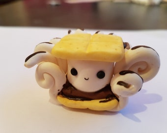Large smores octopus figurine