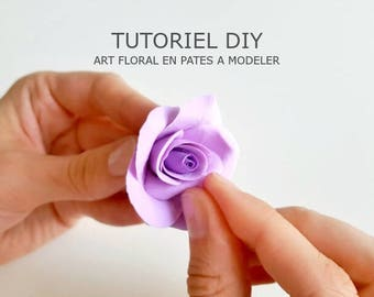 DIY tutorial - Classic pink in self-supplying playdough