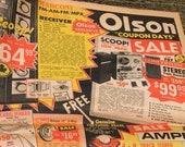 Vintage Olson Electronics Mailer Catalog 1967 Vintage Audiophile Electronics Radios Guitars Amps Microphones Stereos