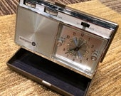 Vintage Westinghouse Travel Clock Radio 1960s