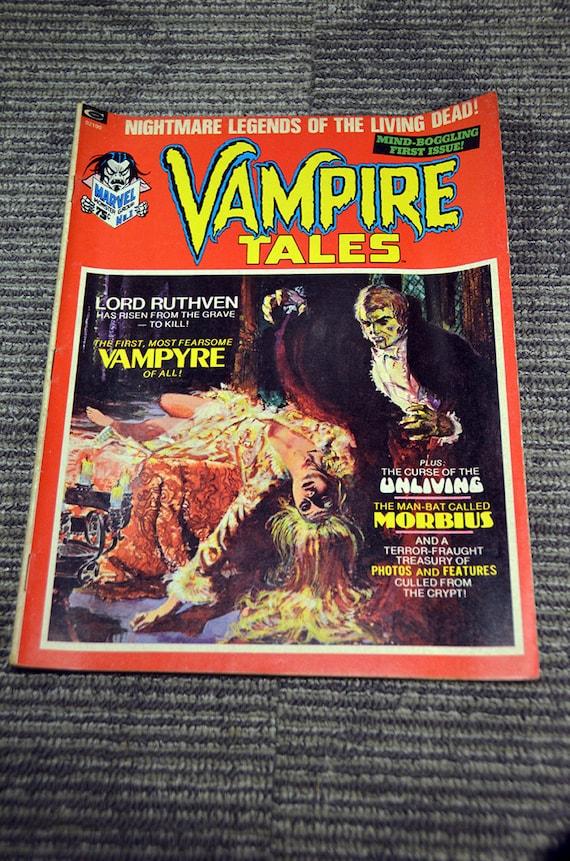 1970s VAMPIRE TALES magazine #1