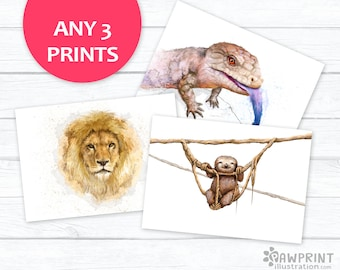 Any 3 Prints Special Offer! - choose any 3 prints from this shop to save 15-30%