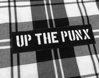 Up the Punx Sew on Punk Patch