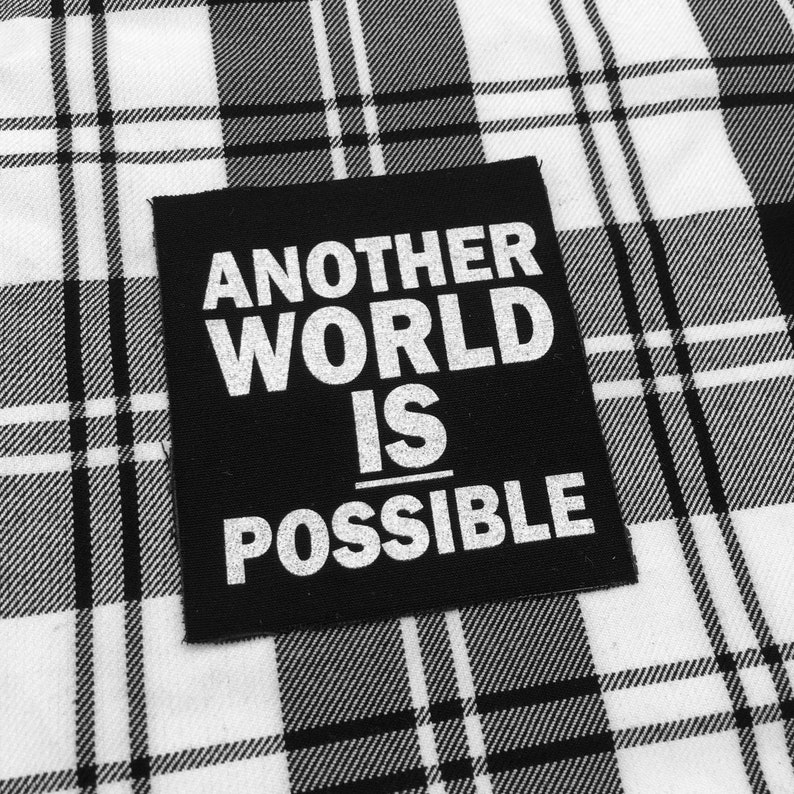 Another World is Possible Punk Patch Metal Patches Punk | Etsy