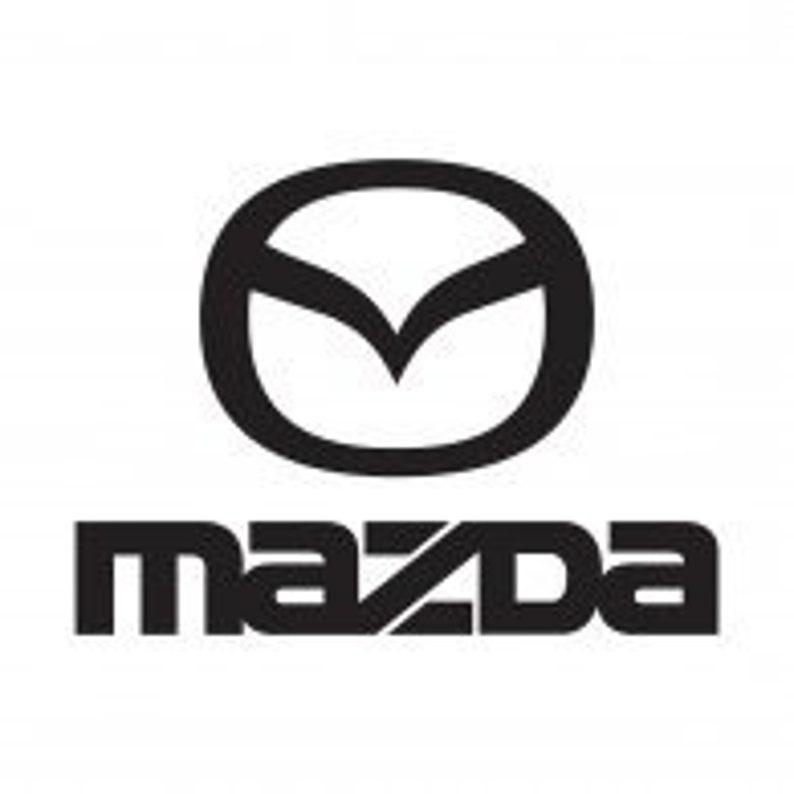 Mazda Logo vinyl decal - For Cars, Laptops, Sticker, Mirrors, etc