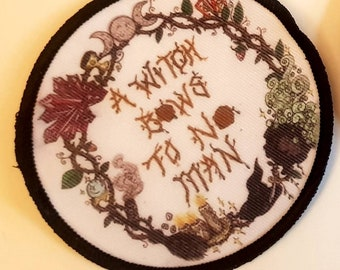 Witchy Man Patch