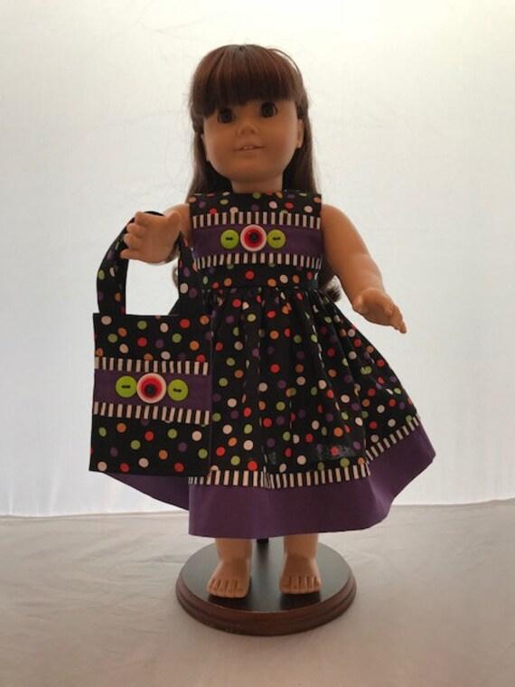 """Polka Dot Sundress  Fits 18/"""" American Girl  Dolls"""