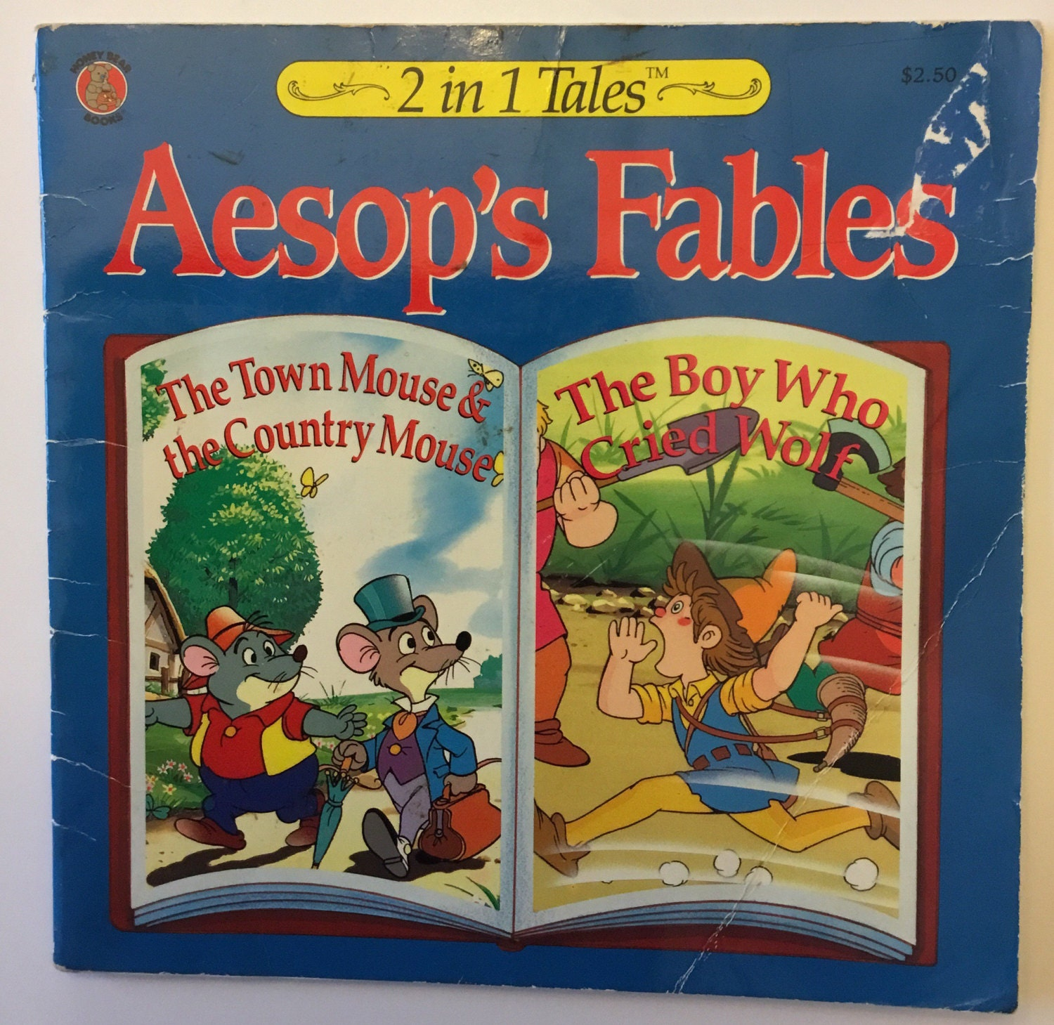 Aesops Fables The Town Mouse And Country Etsy