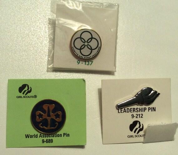Cadette Girl Scout Challenge Pin, Cadette Leadersh