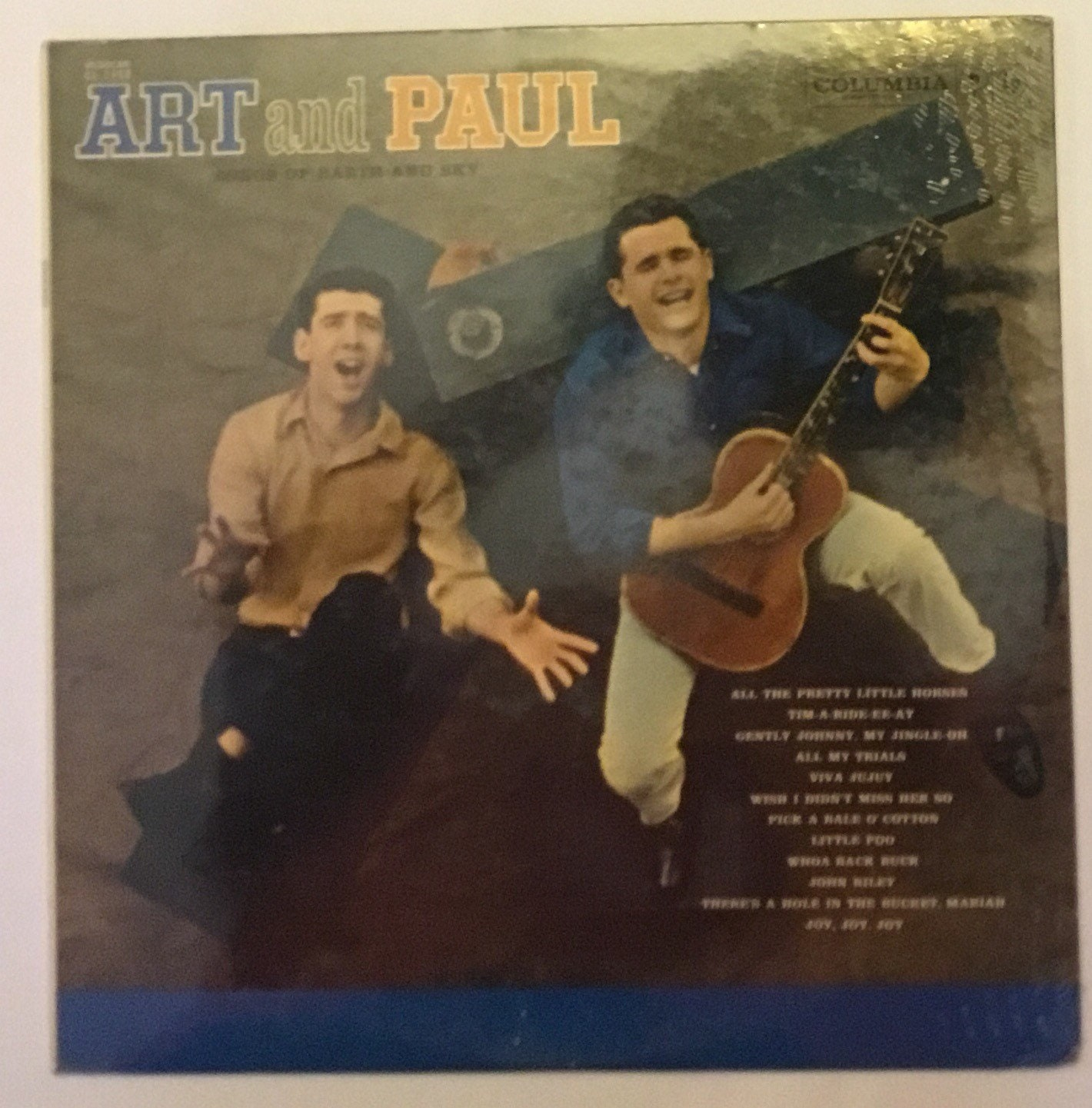 Art and Paul Songs Of Earth And Sky Vintage Vinyl Record Album New In  Shrink Wrap 1960