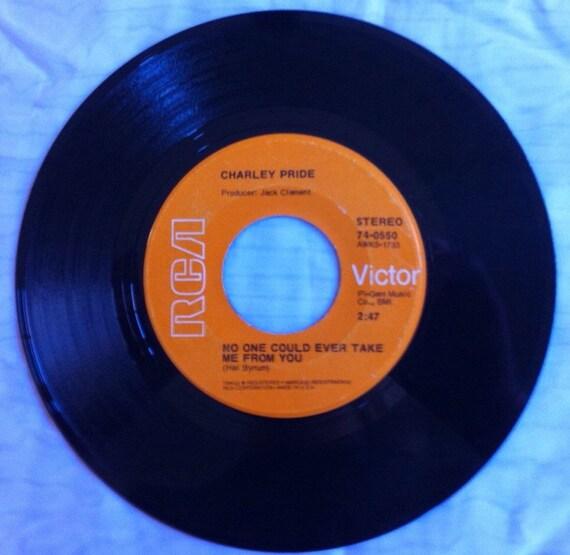 Charley Pride Küssen Eine Engel Guten Morgen Und Niemand Könnte Mich Immer Nehmen Sie 45 1971 Vintagd Vinyl Schallplatte