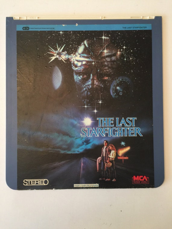 The Last Star Fighter Vintage Mca Home Video Videodisc 1985 Etsy