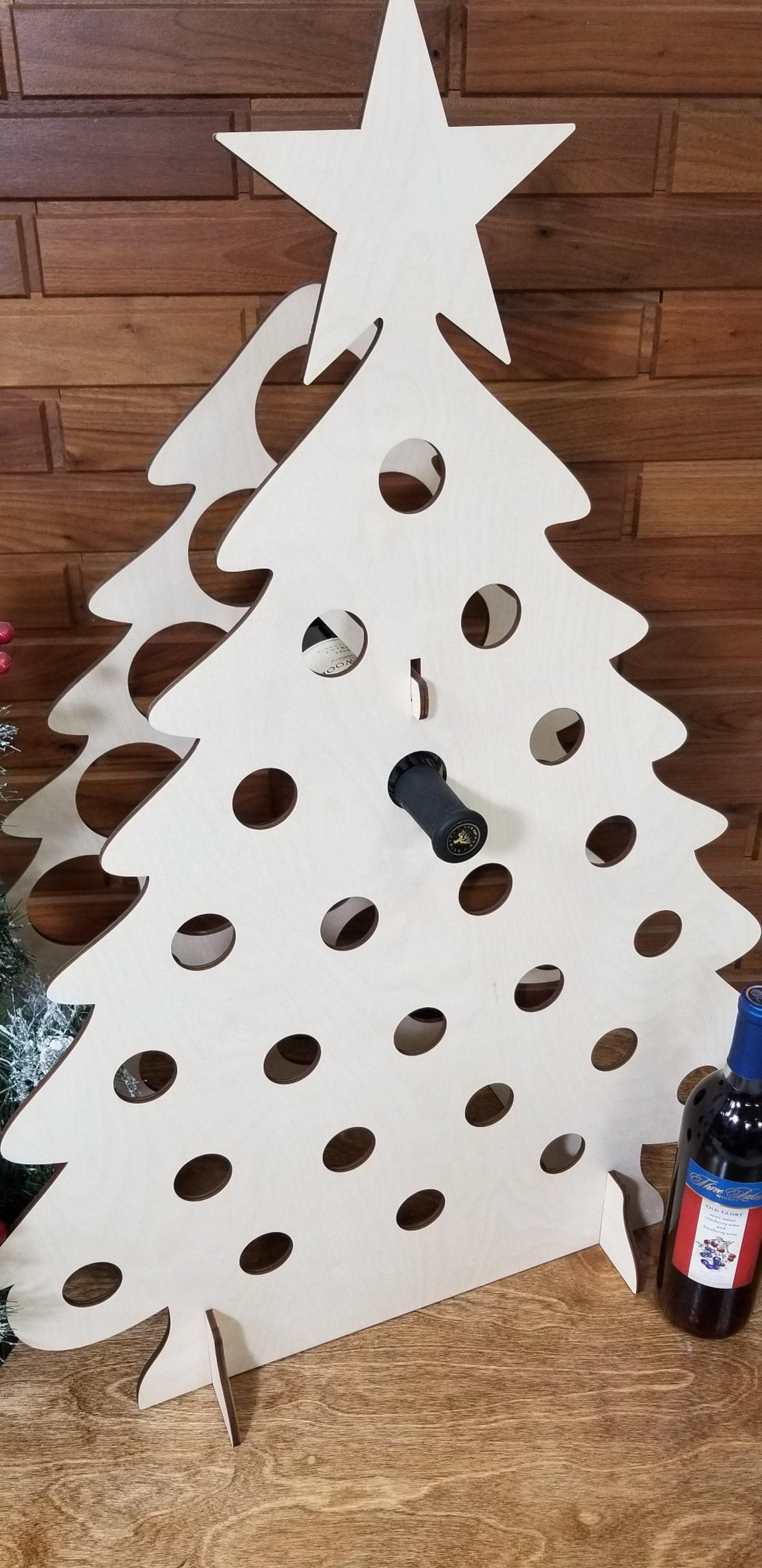 Tipsy Tree Full Size Wine Bottle Advent Calendar