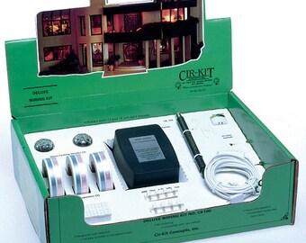 cir kit starter wiring kit dollhouse lighting rh etsy com Dollhouse Wiring Kit Shop Dollhouse Wiring Tape Systems
