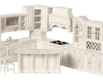 Dollhouse Kitchen Cabinets Etsy