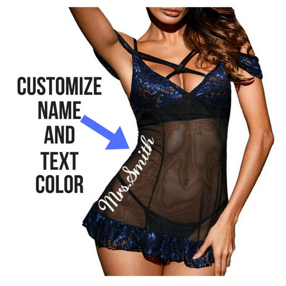 e2f5ba2c7 Custom Two Piece Lingerie Set. Sexy Wedding Lingerie. Lace