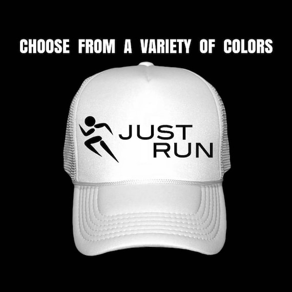 Running Hat. Women s Fitness Trucker Hat. Gym Hat. Run  63b35dc676f