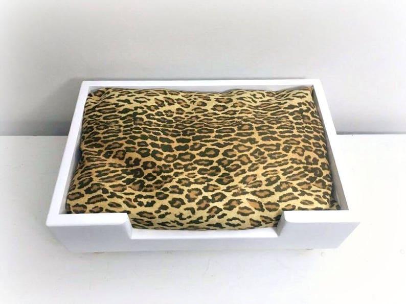 Pet Beds Personalized Dog Bed Modern Dog Bed Cat Beds Dog Beds Teacup Dog Bed Leopard Print Bed Pet Bedding Pet Furniture