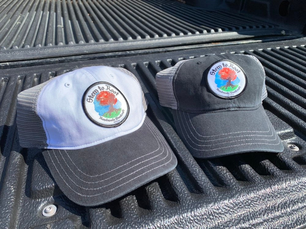 Stem to Root official custom patch trucker hat