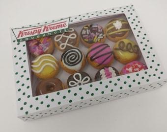 Krispy Kreme Dozen Doughnut Fridge Magnet