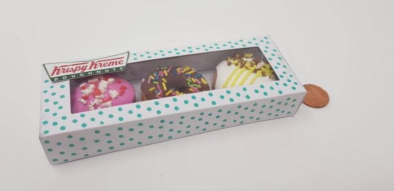 Krispy Kreme 3 Pack Donut Magnet