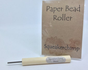 Paper Beading Roller, Paper Bead Tool, Paper Bead, 3mm Bead Tool, Beads, Jewelry Making, Bead Making, Eco Crafts 1/8 inch
