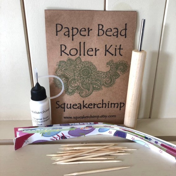 Bead Easy Eyelet Setter and 3//16 inch Slotted Paper Bead Roller