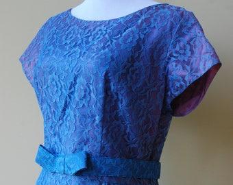 1950s/1960s Blue Lace Dress
