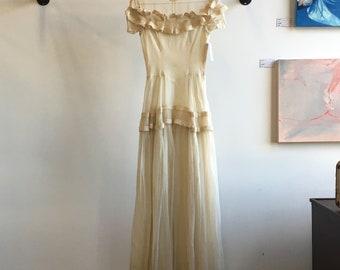 1940s Wedding Dress Etsy