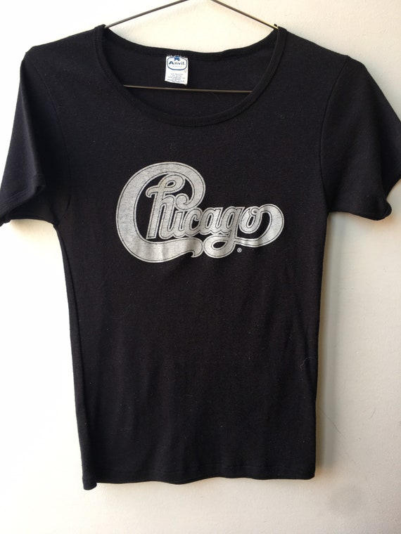 1970s VINTAGE Chicago (band) T-Shirt