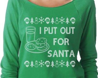 I Put Out For Santa Etsy